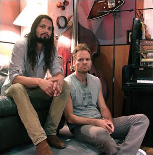 Saunder Jurriaans and Danny Bensi
