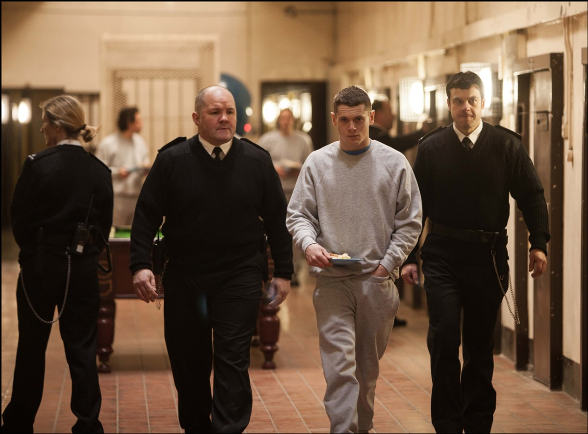 """Jack O'Connell in """"Starred Up"""""""