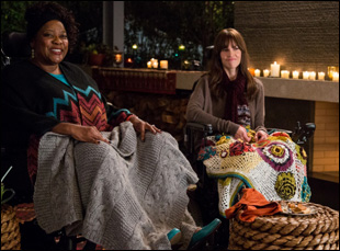 """Loretta Devine and Hilary Swank in """"You're Not You"""""""