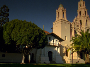 "Mission Dolores in ""The Royal Road"""