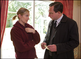 "Eddie Marsan and Joanne Froggatt in ""Still Life"""