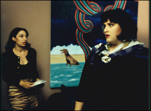 "Jackie Beat and Illeana Douglas in ""Grief"""