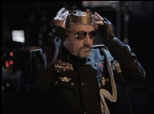 "Kevin Spacey as Richard III in ""Now: In the Wings on a World Stage"""