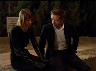 "Mia Wasikowska and Robert Pattinson in ""Maps to the Stars"""