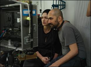 "Ronit and Shlomi Elkabetz in ""Gett: The Trial of Viviane Amsalem"""
