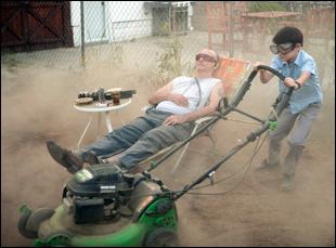 """Bill Murray and Jaeden Lieberher in """"St. Vincent"""""""