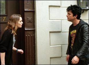 "Leighton Meester and Billie Joe Armstrong in ""Like Sunday Like Rain"""