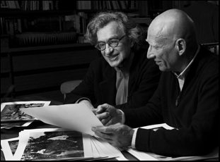 "Wim Wenders and Sebastiao Salgado in ""Salt of the Earth"""