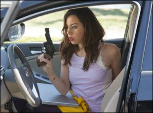 "Aubrey Plaza in ""Ned Rifle"""