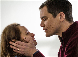 "Michael Shannon and Samantha Morton in ""The Harvest"""