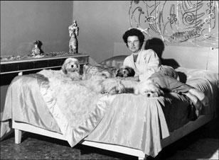 "Peggy Guggenheim in ""Peggy Guggenheim: Art Addict"""
