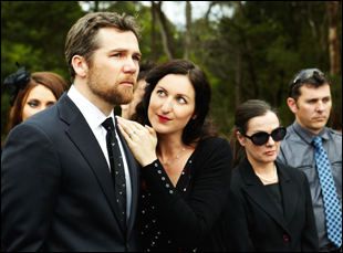 """Patrick Brammall and Kate Box in """"The Little Death"""""""