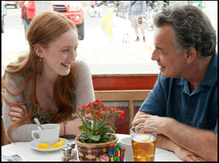 """India Munuez and Ray Wise in """"The Breakup Girl"""""""