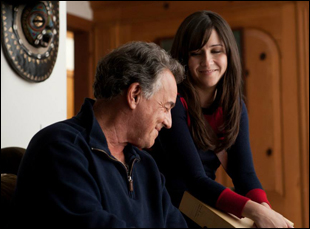 "Shannon Woodward and Ray Wise in ""The Breakup Girl"""