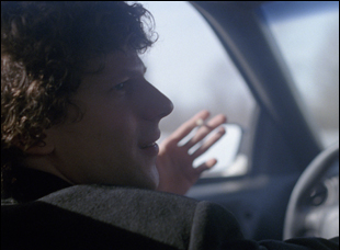 "Jesse Eisenberg in ""The End of the Tour"""