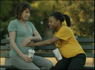 "Cobie Smulders and Gail Bean in ""Unexpected"""