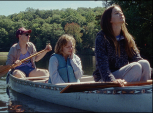 """Katherine Waterston and Elizabeth Moss in """"Queen of Earth"""""""