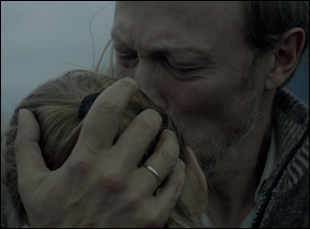 """Lars Mikkelsen and Sonia Suhl in """"When Animals Dream"""""""
