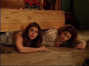 "Nina Dobrev and Alia Shawkat in ""The Final Girls"""