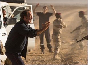 "Vincent Lindon in ""The White Knights"""