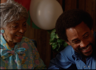 """Ruby Dee and Hill Harper in """"1982"""""""