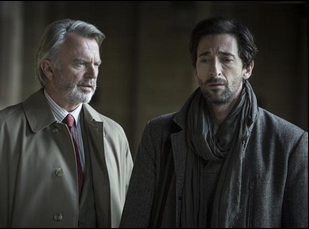 """Sam Neill and Adrien Brody in """"Backtrack"""""""