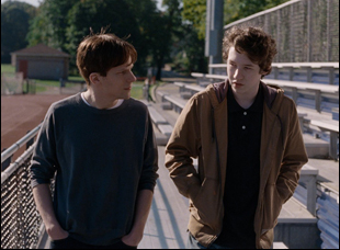 """Jesse Eisenberg and Devin Druid in """"Louder Than Bombs"""""""