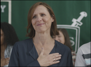 "Molly Shannon in ""Miles"""