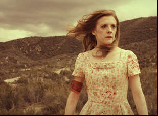 """Ashley Bell in """"Carnage Park"""""""