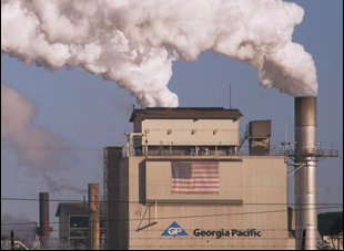 "Georgia Pacific Plant in Crossett, Arkansas in ""Company Town"""