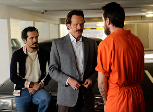 "John Leguizamo and Bryan Cranston in ""The Infiltrator"""