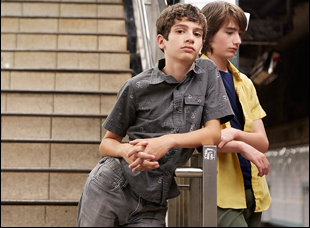 "Michael Barbieri and Theo Taplitz in ""Little Men"""