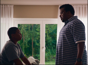 "Markees Christmas and Craig Robinson in ""Morris From America"""