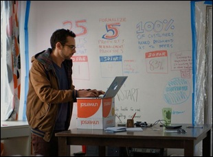 "A scene from ""Generation Startup"""