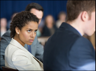 "Gugu Mbatha-Raw in ""The Whole Truth"""