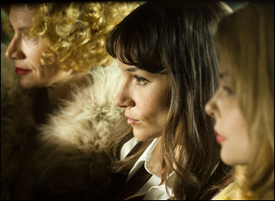 "Kelly Lynch, Jocelin Donahue and Izabella Miko in ""The Frontier"""