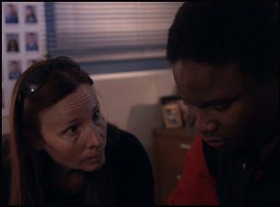 "Vonda Viland and Lee in ""The Bad Kids"""