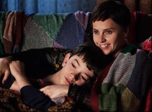 "Felicity Jones and Lewis MacDougall in ""A Monster Calls"""