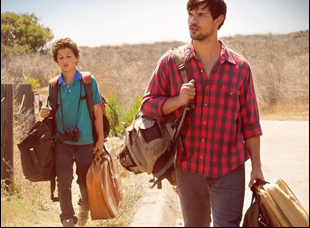 "Taylor Lautner and Nico Christou in ""Run the Tide"""