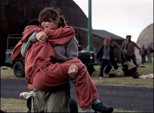 """Gemma Arterton and Sennia Nanua in """"The Girl With All the Gifts"""""""