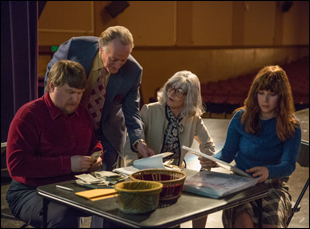 "Melissa Leo, Michael Chernus, Peter Fonda and Juno Temple in ""The Most Hated Woman in America"""