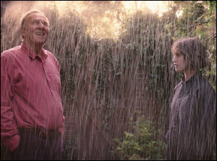 "Tom Wilkinson and Jessica Brown Findlay in ""This Beautiful Fantastic"""