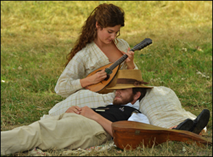 "Alice Pol and Guillaume Canet in ""Cezanne Et Moi"""