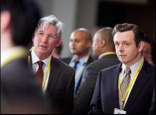 """Richard Gere and Michael Sheen in """"Norman"""""""