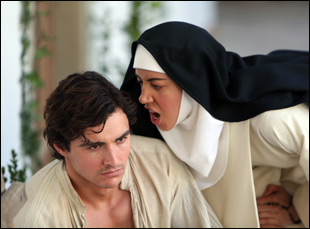 """Aubrey Plaza and Dave Franco in """"The Little Hours"""""""