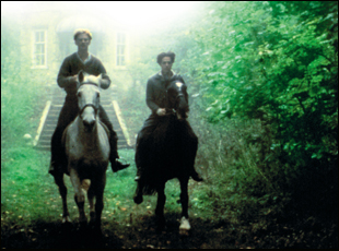 "James Wilby and Hugh Grant in ""Maurice"""