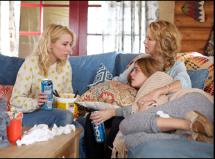 """Madelyn Deutch, Zoey Deutch and Lea Thompson in """"The Year of Spectacular Men"""""""