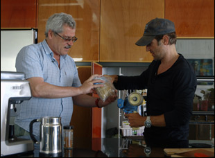 """Grigory Rodchenkov and Bryan Fogel in """"Icarus"""""""
