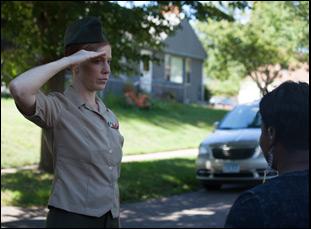 """Kate Nowlin in """"Blood Stripe"""""""