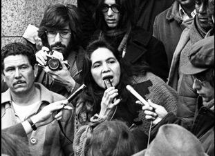 "Dolores Huerta in ""Dolores"""